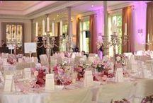 Hohe Tischdekoration / Kerzenständer, Vasen, ... Möglichkeiten um Raumhöhen zu gestalten