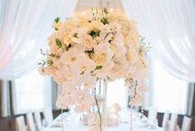 White wedding / Schlichte Eleganz in weiß