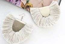 FRINGE & TASSEL EARRINGS