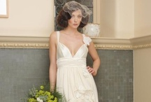 Jersey wedding dresses / When I was having my wedding dress designed the designer suggested jersey as a fabric and I thought that was a bit odd - too casual.  Now I'm thinking how rewearable that would be (plus it doesn't need to be ironed!) and was wowed by these fantastic jersey wedding dresses. / by ethicalweddings