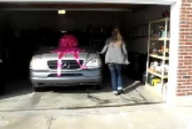Videos / Videos with car bows on cars given as gifts.