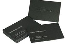 Great Business Cards Ideas / A little inspiration on making this most boring of printed necessities that little bit more interesting!