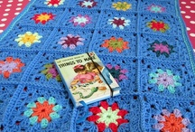 mycrochet BLUE grannies/afghans / by Joy Ryan