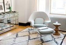 Eero Saarinen / 20 century  Finnish American architect and industrial designer, his tulip chair & table are classics of contemporary furniture design