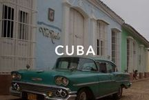 Cuba / Many Americans had beach homes during the summer, and rich American companies also owned large factories and land in the island nation. Havana, Viñales, Cienfuegos.