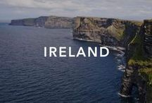 """Ireland / Ireland, land of green fields, spirits and picturesque towns but also traditionally the """"land of saints and scholars"""" for its strong monastic tradition."""