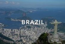 Brazil / Brazil officially the Federative Republic of Brazil , is the largest country in both South America and the Latin American region. Iguaçu Falls, Rio de Janeiro, São Paulo.