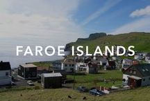 Faroe Islands / The countryside is dominated by steep mountains and there are about 70,000 sheep and some 2 million pairs of seabirds, including the largest colony of storm petrels in the world.