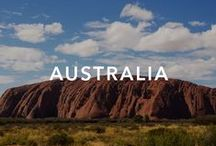 Australia / Australia is one of the wealthiest in the world, great for the quality of life and wide variety of landscapes, with tropical rainforests in the north-east, mountain ranges in the south-west,, and dry desert in the centre.