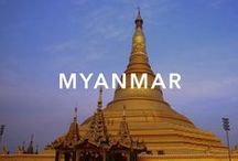 Myanmar / Ancient country with a history that includes both ruling its own Empire and being part of the British Empire. Until recently rather isolated under a military dictatorship and now undergoing political changes and opening up to tourism.