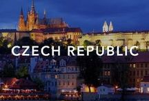 Czech Republic / Beautiful forests and mountains, and some of the most notable architectural attractions in Europe.