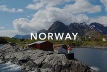 Norway / Famous for deep fjords, steep mountains, and wooden churches.