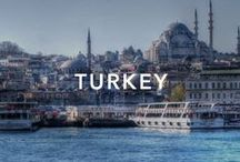 Turkey / In 1945 Turkey joined the UN, and in 1952 it became a member of NATO.Turkey offers a wealth of destination varieties to travellers. from dome-and-minaret filled skyline of...