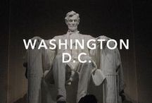"""Washington, D.C. / Washington, D.C., formally the District of Columbia and commonly referred to as Washington, """"the District"""", or simply D.C., is the capital of the United States."""