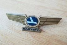 Vintage pins / Remember these airline pins?