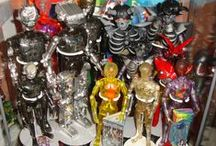 Plastic Fantastic / Mix of different kinds of figures from all over