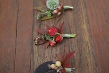 wedding boutonnière and corsages