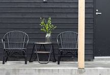 OUTSIDE / Nordic and inspiring outside spaces, seating.