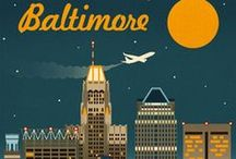 Great City of Baltimore / Proud to a business serving in our great city, Baltimore! Showing our pride!