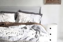 BEDROOM / beautiful bedrooms some with designer touch some vintage