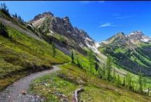 As Seen On The PCT / Sights from one of the big 3 long distance trails in the US, the Pacific Crest Trail.