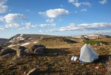 The Continental Divide Trail / The newest of the big 3 trails in the United States. It is also the longest of the 3 trails.