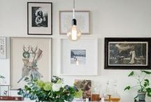 PICTURE WALL / beautiful picture wall ideas for the home