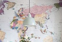 Maps + Globes / A collection of vintage cartography, as well as handmade and computer generated maps. Maps in all forms! Swoon. All content are repins/recycled content, none are by Triposo (unless stated otherwise).