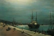 Greece • 19th Century Seascape Artists
