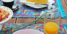 painted placemats