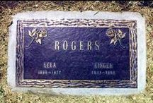 Gravestones / Funny to Famous Grave Stones (see also People)  - Gone, But Not Forgotten  / by Kim