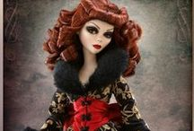Doll -- BJD / Ball Jointed Dolls and their Accessories ... clothing, furniture, patterns / by Laura Jenkins Reffett Design