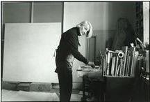 Artists | Working / Artists in studios.