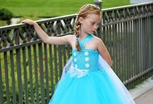 Princess Dress Collection / Tutu dresses inspired by Princesses.  Perfect dresses for your little ones birthday themed parties, trips to the parks and photo shoots.