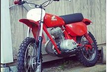vintage dirt bikes / For a restoration project I'm working on