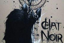 Mort / Imagier sur le thème de la mort