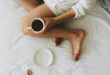 Morning & Cups / Coffee Coffee & more Coffee. What else?