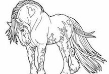 Interesting Coloring Pages / by Laura Jenkins Reffett Design