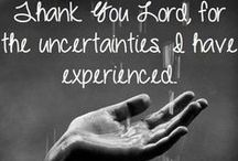 Praise God. / Give thanks to the Lord