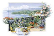 Postcards  gardens  & flowers / PIN UNLIMITED ONLY FOR MY FOLLOVERS