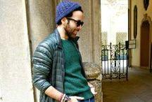 Men' street style winter look / Mens fashion for winter.
