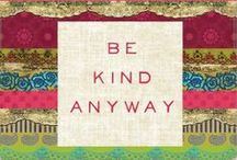 Kindness / kindness;kind 1 (knd) adj. kind·er, kind·est 1. of a friendly, generous, or warm-hearted nature. 2. showing sympathy or understanding; charitable: a kind word. 3. humane; considerate: kind to animals.