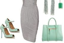 Color Coded: Mint Green / Mint Green Fashion, my guilty pleasure; mint green clothes, mint green fashion accessories.