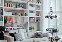 Lounge Shelving / Lounge Shelving