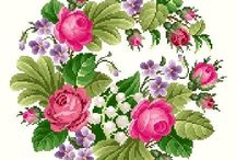 Cross stitch/needlepoint / PIN UNLIMITED ONLY FOR MY FOLLOVERS  similar images in my board CROSS STITCH WOMAN Fashion