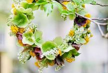 Floral   Wreaths / decorations for doors and windows for all seasons  PIN UNLIMITED ONLY FOR MY FOLLOVERS