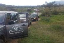 Land Rover presenta el nuevo Discovery Spor / Land Rover nos contrata junto a Traventure, para organizar actividades  en la presentación del nuevo Discovey Sport. Hemos hecho una espectacular ruta. Safari de Alqueva y del Toro.-------------------------- 20 coches y 65 personas disfrutando de un fantástico día. Visitando Puente Ajuda, Embarcadero de Villarreal, Sierra de Alor, comida en la Finca los Fresnos (en donde se realizó el Safari del Toro) y cena en el Hotel Las Bóvedas.
