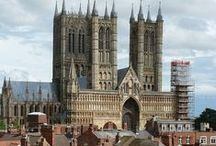 Beautiful Lincoln, UK / #Lincoln is my home.  And it's sooo beautiful!  Best.  Cathedral.  EVER!!.
