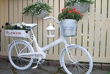 Flowers in bicycle / PIN UNLIMITED ONLY FOR MY FOLLOVERS