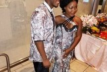 African Weddings & Asoebi / African wedding fashion, brides, bridesmaids, Aso Ebi, grooms, groomsmen, husband, wife, all custom made by Menogu Designs :)